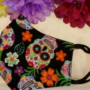 Handcrafted fabric face mask Reversible/Washable